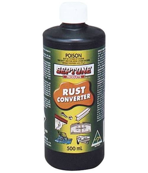 how to use septone rust converter
