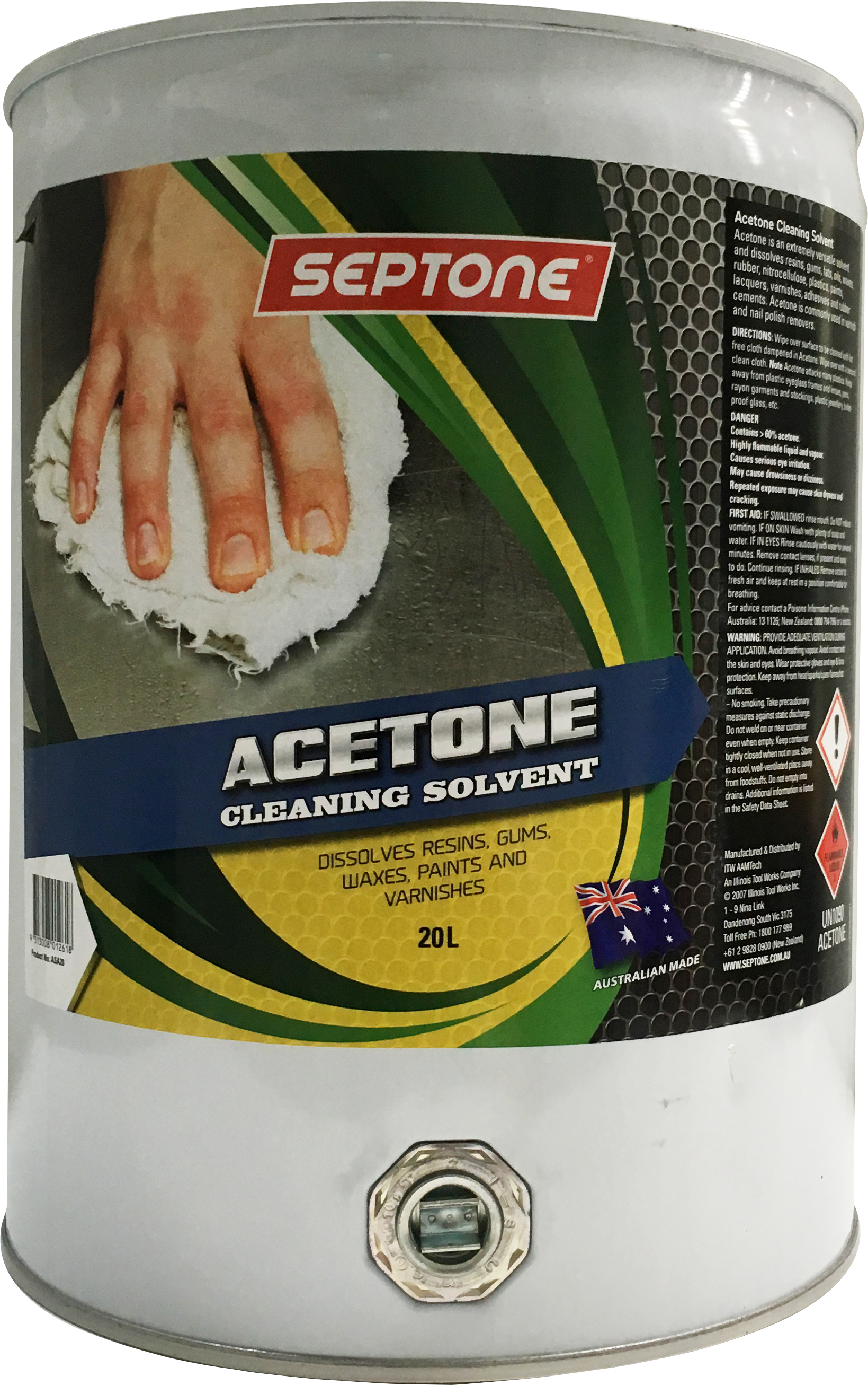 Septone - Paint and Panel - Prepare - Wax and Grease